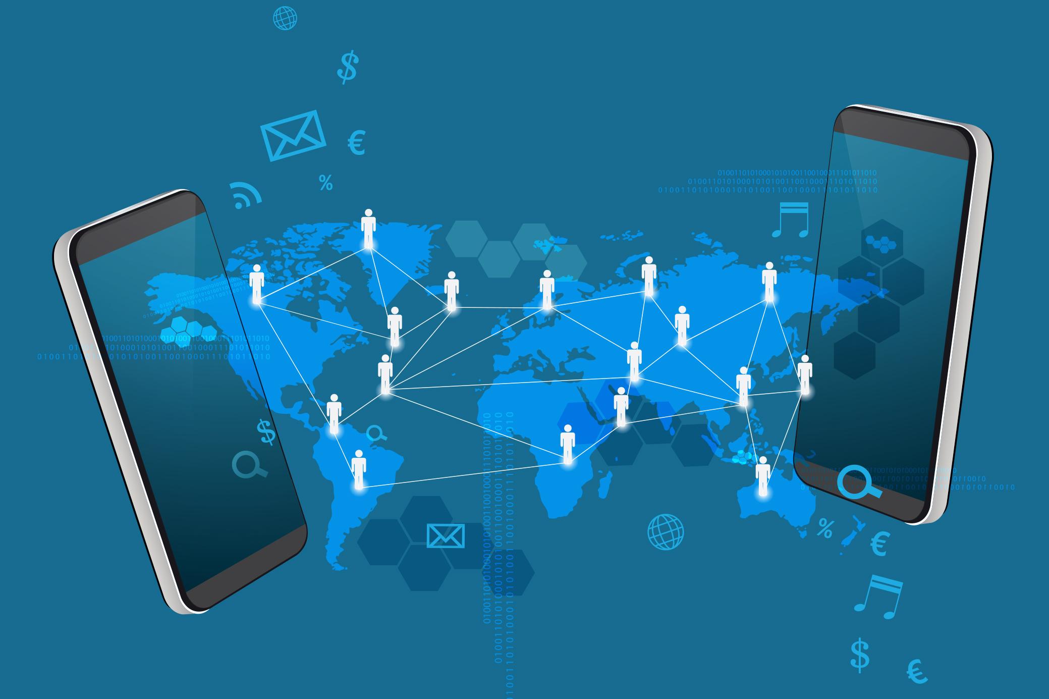 Transfer of international calls